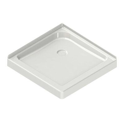 Maax Inc 36 X 36 Double Threshold Shower Base With Centre Drain