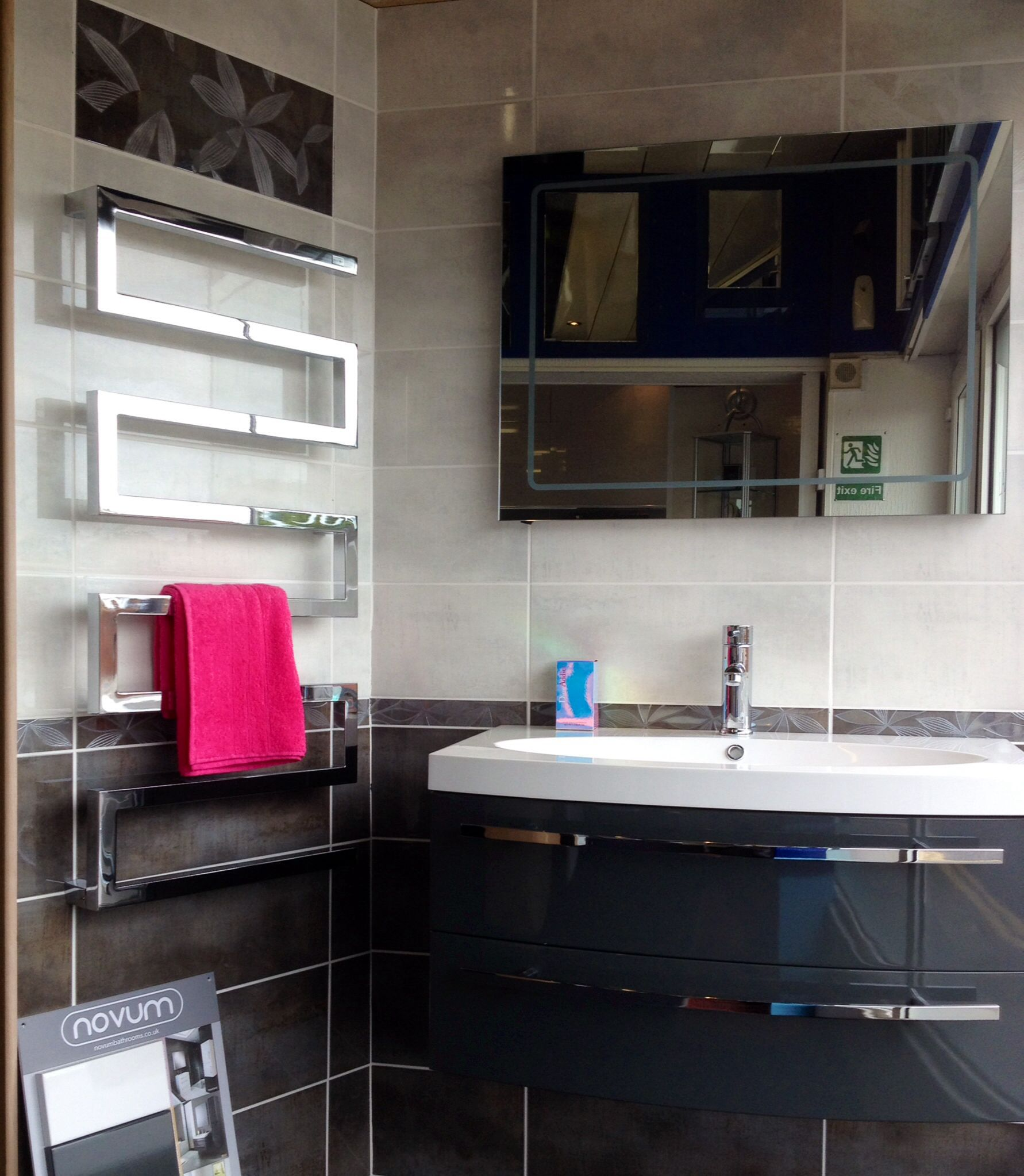 Fabulous serpentine towel warmer from Radox radiator company   Ideas ...