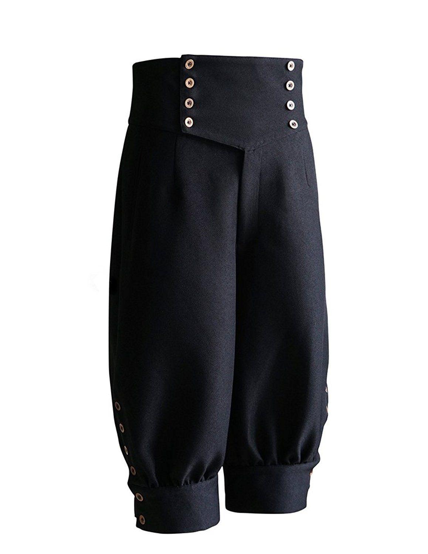 e55496a5fa04f Steampunks Pants & Bloomers Gothic Steampunk High Waist Short Riding  Breeches $102.00 AT vintagedancer.com