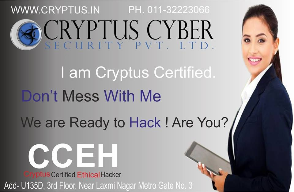 "Cryptus Cyber Security Private Limited on LinkedIn: ""Cryptus"