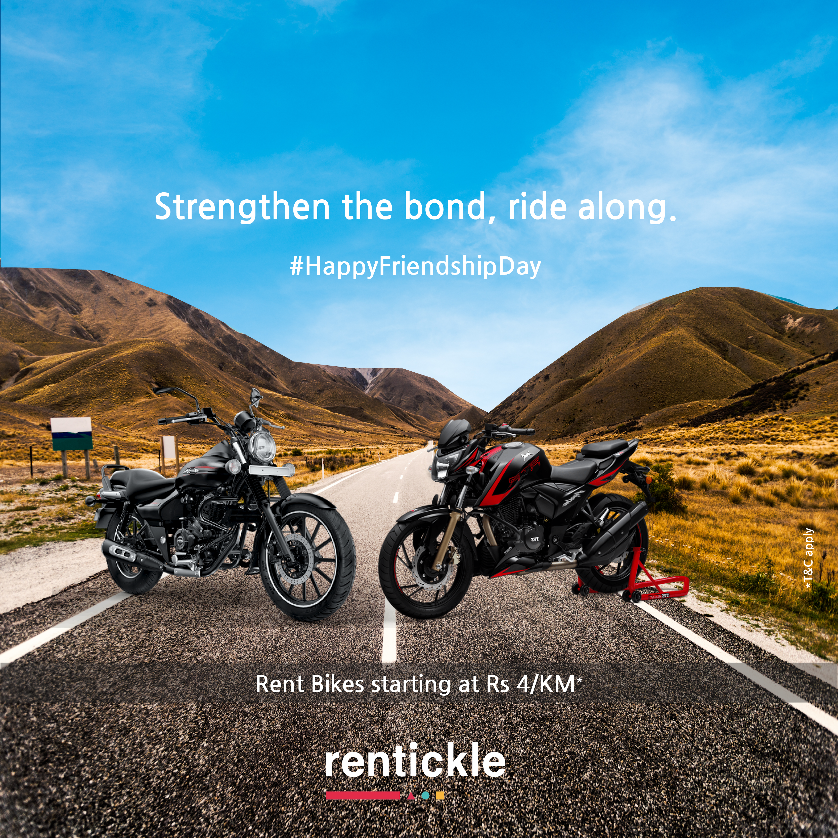 Rent Super Bikes For An Adventurous Ride This Friendship Day Get