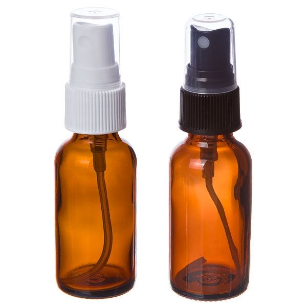 1 Oz Bottle Amber Glass With Misting Spray Top 6 Count Glass Spray Bottle Amber Spray Bottle Amber Glass Bottles