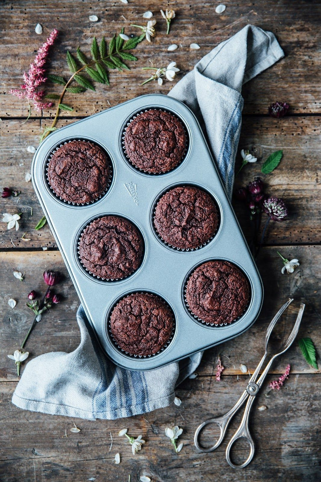 Chocolate Beetroot Cupcakes With Cashew Chia Frosting From The Edeka