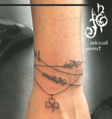 Tattoo Datum Handgelenk
