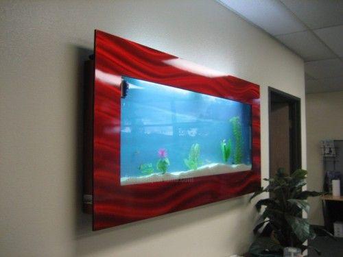 Wall Fish Tank XL Wall Mounted Aquarium GEARFUSE