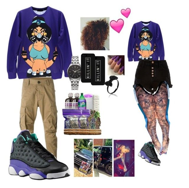 """""""❣❤Day wit Aug ❤❣"""" by elmowatson ❤ liked on Polyvore featuring beauty, LG, River Island, Dsquared2 and Citizen"""