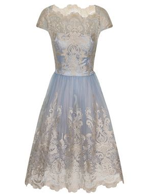 a1d3bd155 Chi Chi Elsa pale blue and gold prom dress, at Aspire Style ...