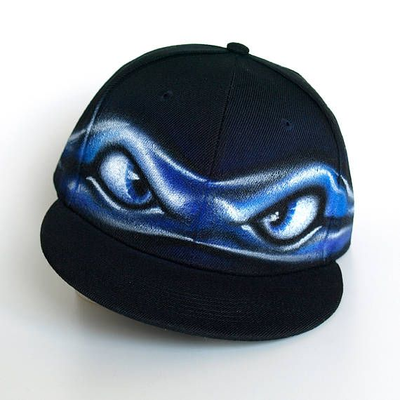 teenage mutant ninja turtles baseball caps turtle hat blue mask angry eyes