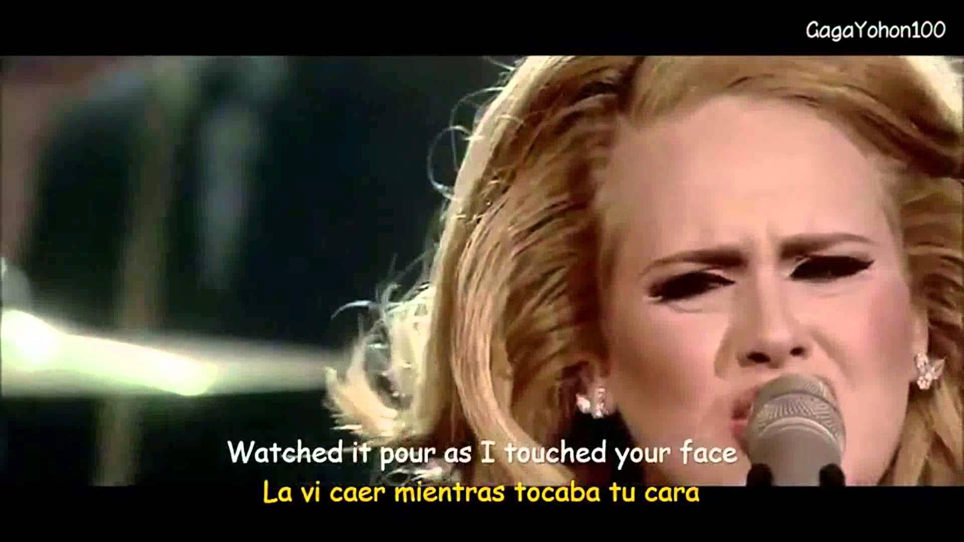 Adele Set Fire To The Rain Lyrics Sub Espanol Video Official