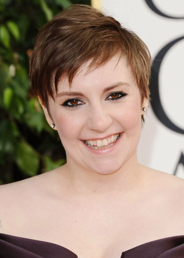 Hairstyles For Short Hair Lena Dunham Hair Bear Bunch