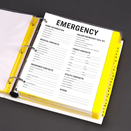 How To Create An Effective Emergency Binder For Your Office In