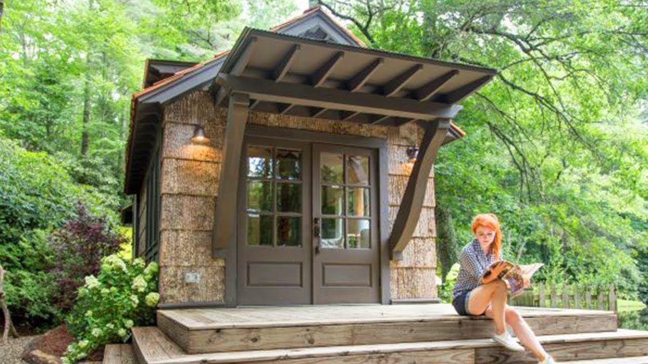 Gorgeous Low Country Rustic Park Model Home Thiết Kế Nha Ti Hon Nha Nhỏ Xiu Mặt Bằng Nha Nhỏ