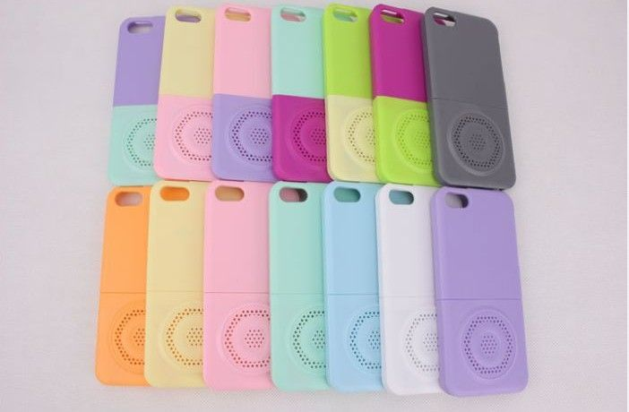 8024f90be5b  Identity Will  Colorful 2 in 1 Candy Speaker Cover Case For iphone 5 Case
