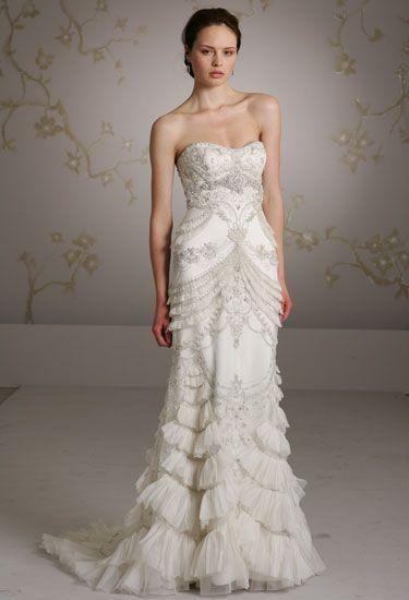 Vestidos de boda Lazaro | Novia sofisticada | Pinterest | Lazaro ...