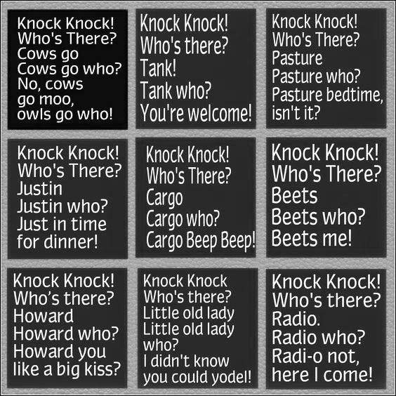 Knock Knock Jokes Funny Jokes For Kids Jokes For Kids Funny Knock Knock Jokes