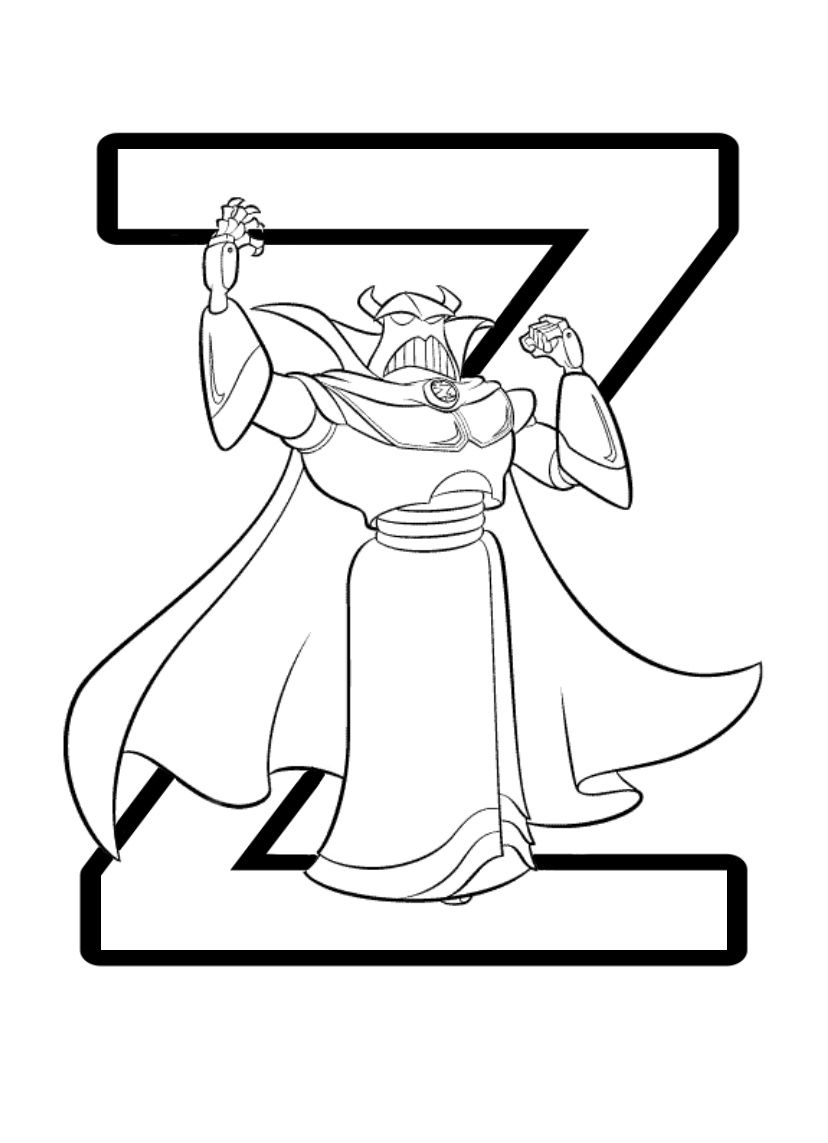 Disney Pixar Alphabet Colouring Pages Toy Story Coloring Pages Alphabet Coloring Pages Disney Coloring Sheets