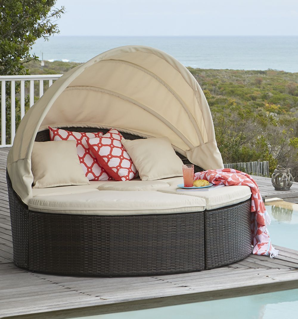 Kick back, relax and socialise on this stylish Minilya daybed from ...