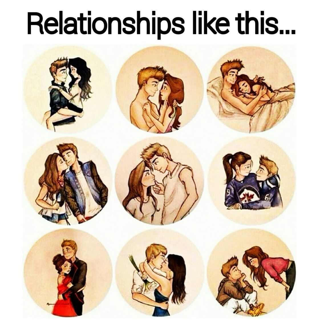 Cute Couple Drawings Quotes Www Topsimages Com