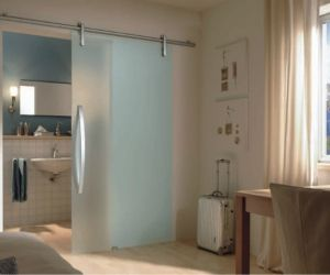 Schuifdeur Voor Badkamer : Dorma rsp glazen schuifdeur slaapkamer badkamer schuifdeuren