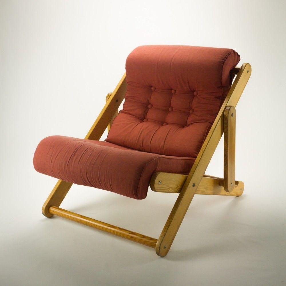 kontiki lounge chair by gillis lundgren for ikea
