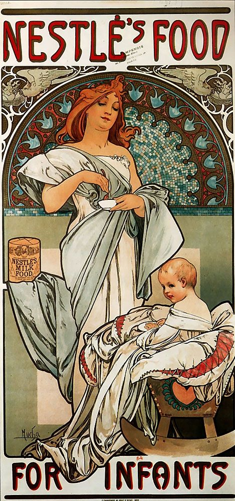 Can't beat a bit of Mucha for poster art!