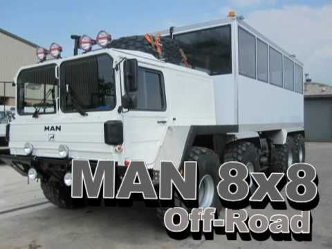 Man 8x8 Off Road Personnel Carrier Used Military Vehicles For