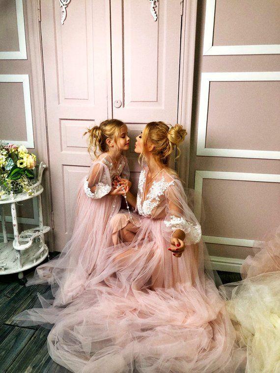 Mother daughter matching dress b5562271e767