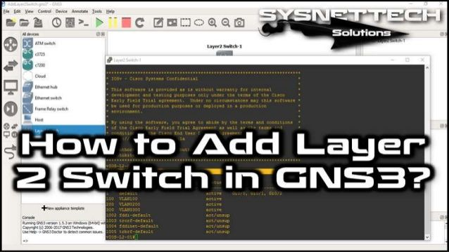 How To Use Switches in GNS3 | Cisco Switches in GNS3 ✅ How
