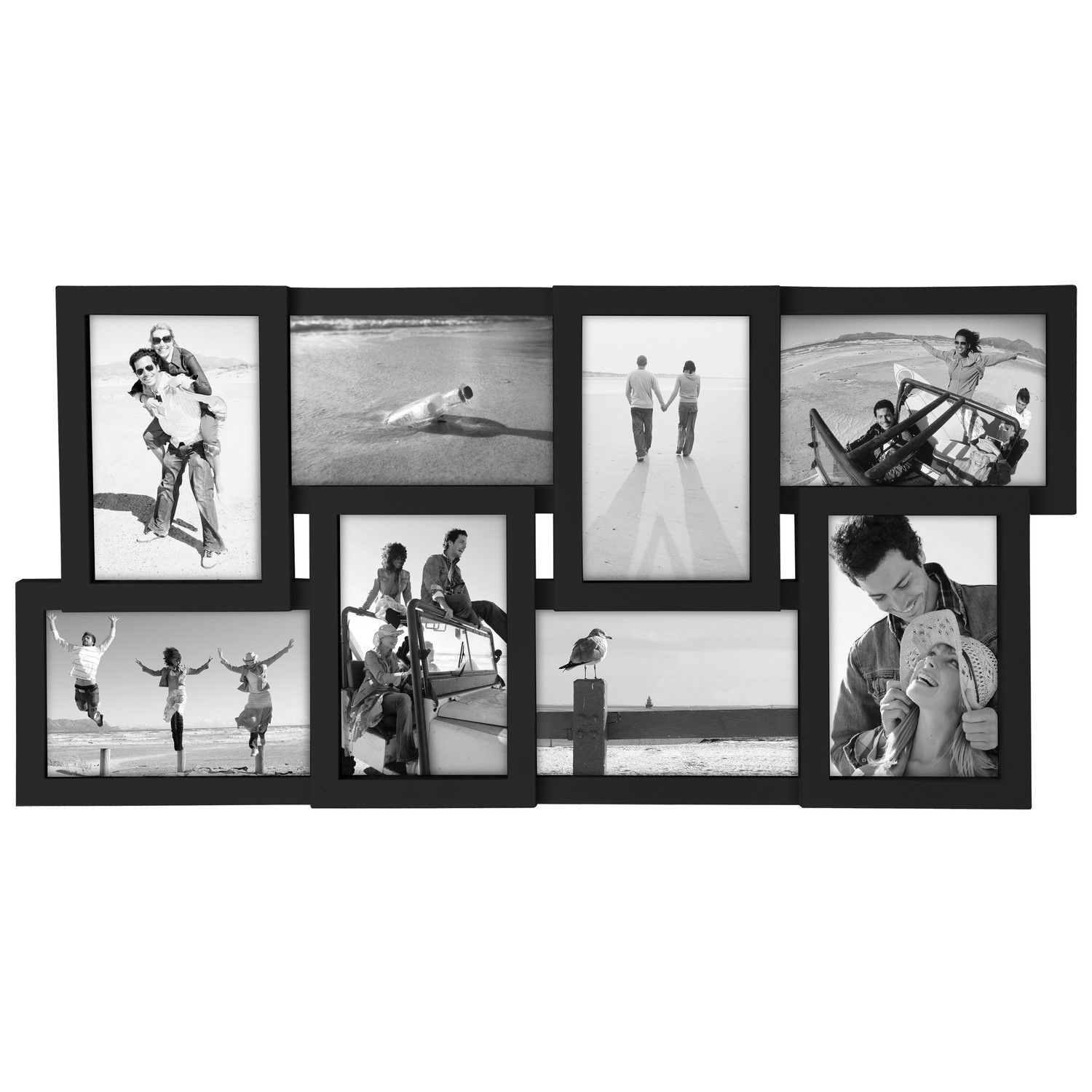 Malden 8 Slot 4 X 6 Puzzle Picture Frame Puzzle Picture Frame Framed Photo Collage