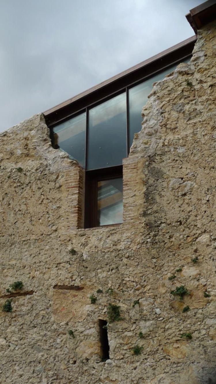 architektur glas stein schloss burg ruine architecture fassaden pinterest. Black Bedroom Furniture Sets. Home Design Ideas
