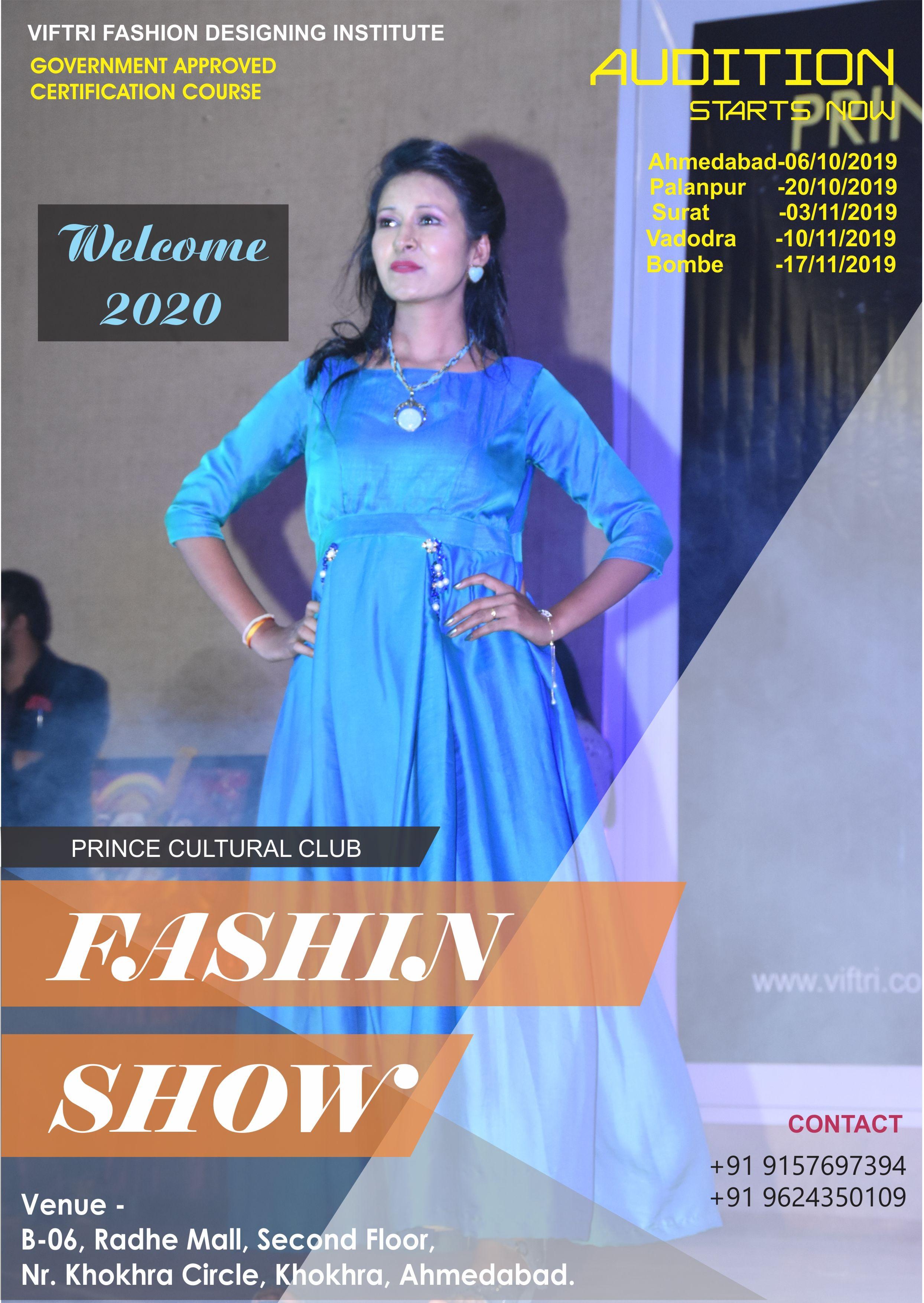 Prince Cultural Club Viftri Fashion Designing Institute Present S Fashion Show 2019 Multi Talent Show Fashion Designing Institute Fashion Design Fashion