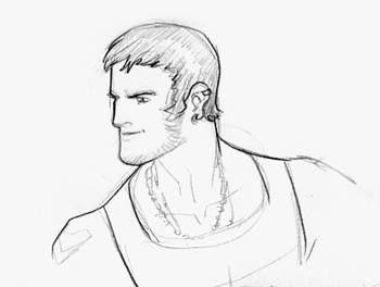 Legionnaires by MAXIME GARBARINI; Ultra Boy 1   my take on Ultra Boy (DC character)
