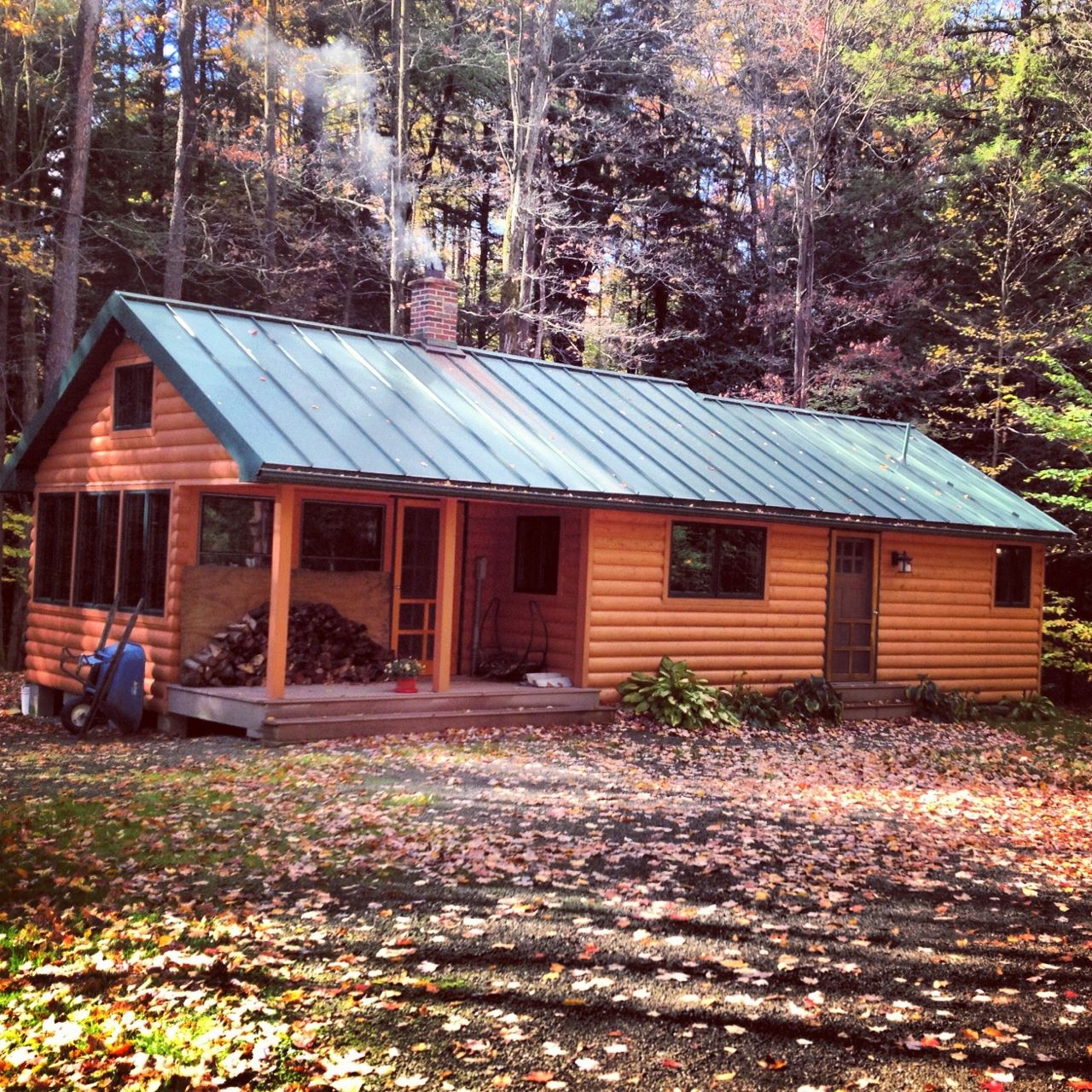 A Northern Cabin Garden Cabins Cheap Log Cabins Log Shed
