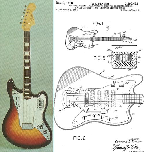 Fender Marauder Type 1 Guitar Design Guitar Vintage Guitars