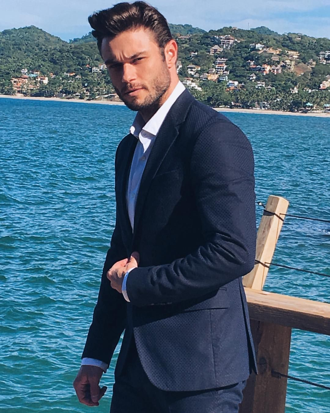 Amadeo Leandro On Instagram Mens Suits Fashion Model
