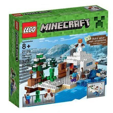Lego LEGO LEGO Minecraft Das Versteck Im Schnee Spiel Multi - Minecraft block spiele