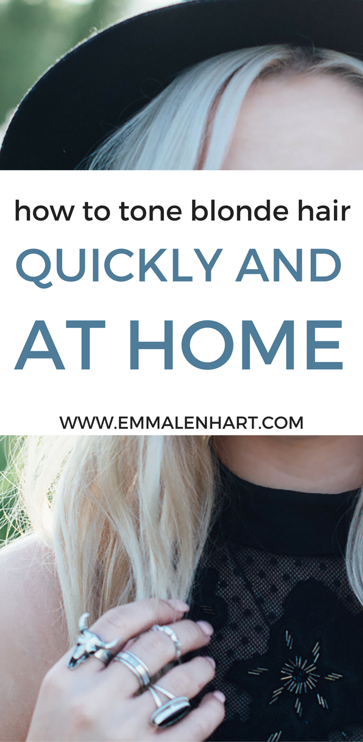 How to use toner for blonde hair and get rid of yellow brassy tones