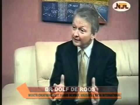 Dr Dolf De Roos in Nigeria  - Avenues to Wealth on AM Express