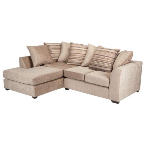 Buy Toronto Fabric Corner Sofa Left Hand Facing From Our Corner Sofas Range Tesco Com Corner Sofa Furniture Sofa
