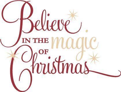 Holidays Holidays Winter Christmas Magic Christmas Quotes Silhouette Christmas