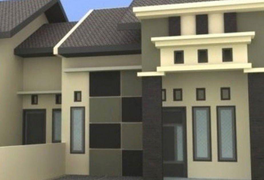 Rumah Minimalis Cat Abu Abu - Desain Minimalis