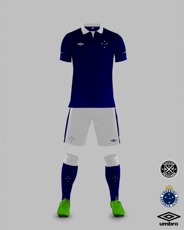 Equipamentos De Futebol · Camisa do Cruzeiro 2016 Umbro IDP Design Esporte  Interativo 8cfdf4705a55a