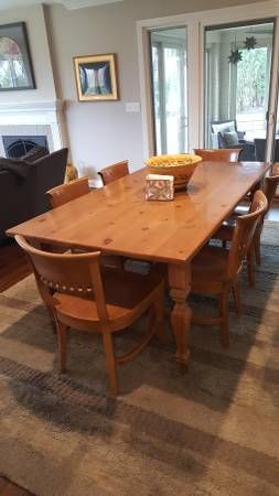 Craigslist 800 Dining Table Dining Table Chairs Table And Chairs