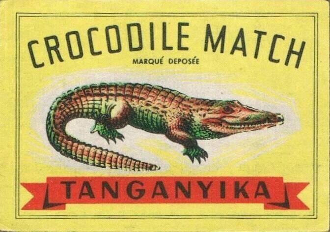 Belgium Matchbox Label.