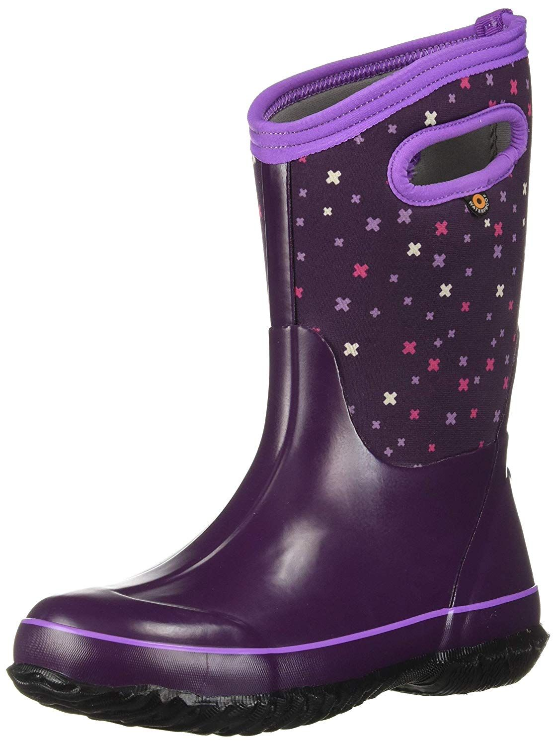 Bogs Kids Classic High Waterproof Insulated Rubber Rain And Winter Snow Boot For Boys Girls And Toddlers Mult Winter Snow Boots Boots Waterproof Winter Boots
