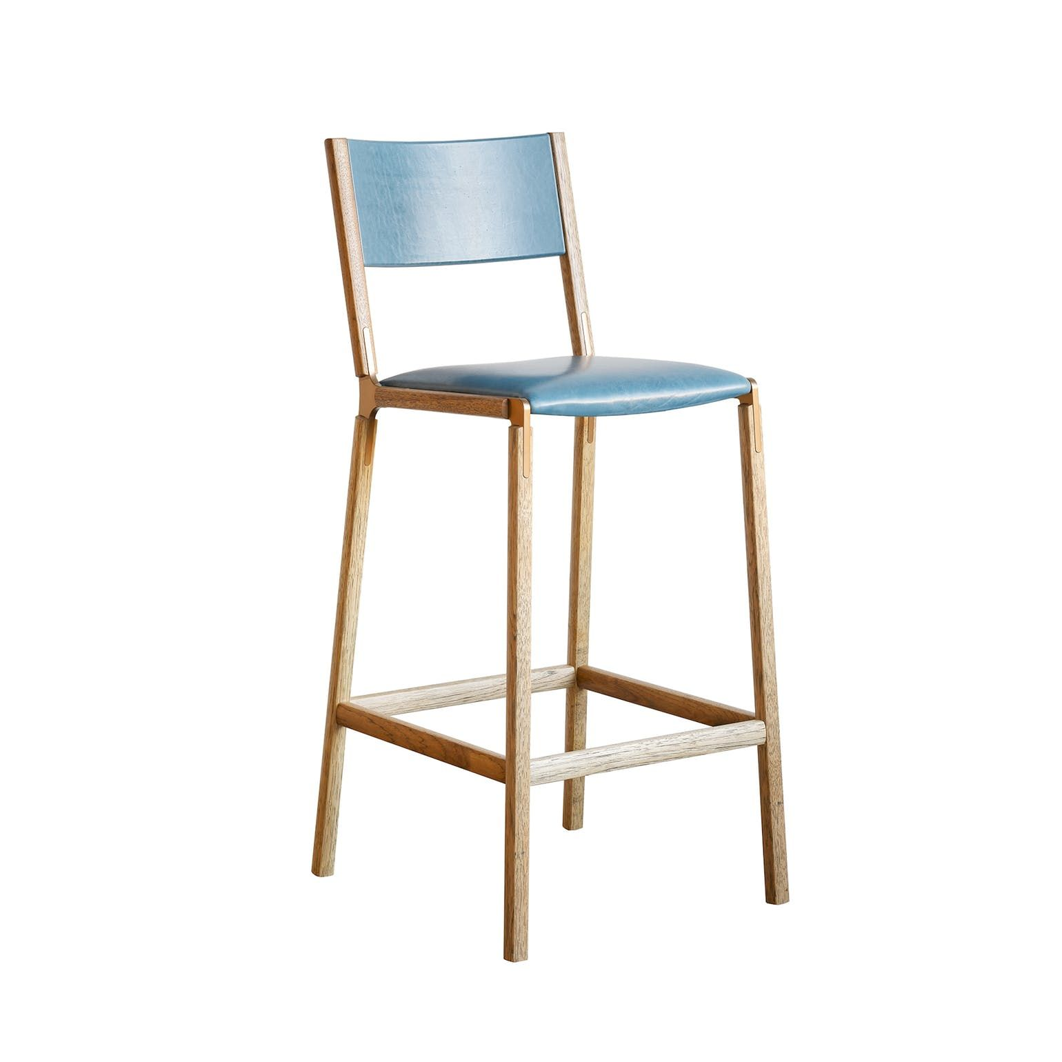 Stanyan Bar Stool Contemporary Industrial Traditional