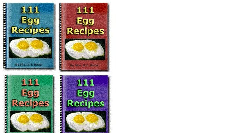 111 delicious egg recipes pdf e book e books for sell on e bay 111 delicious egg recipes pdf e book forumfinder Images