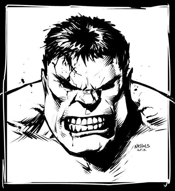 Hulk Sketch By Flowcoma On Deviantart Hulk Sketch Marvel Drawings Hulk