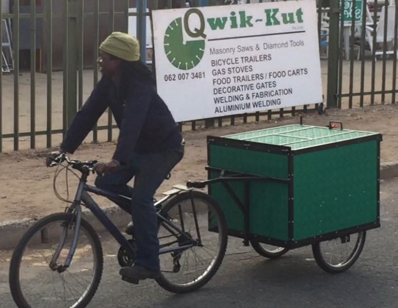 Modular Bicycle Kitchen Trailer Carts Customized To Suit Smme