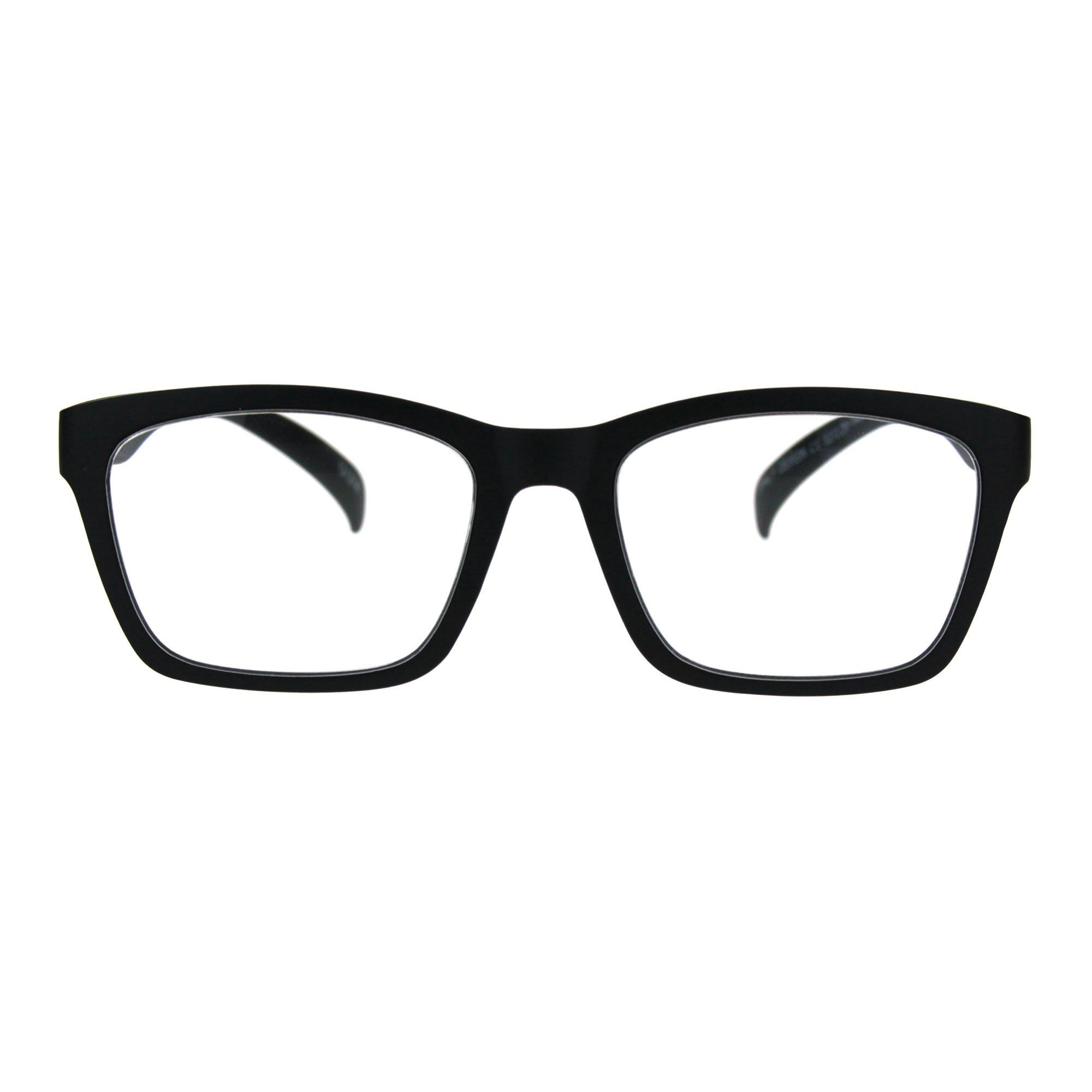 01d2794ac468 Reading Glasses Flexible Rectangular Matted Frame Magnified Readers Black  1.75 -- Check out this great product.(It is Amazon affiliate link)   ...